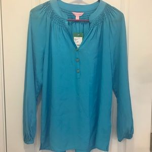 Lilly Pulitzer NWT Elsa Size Small Sparking Blue